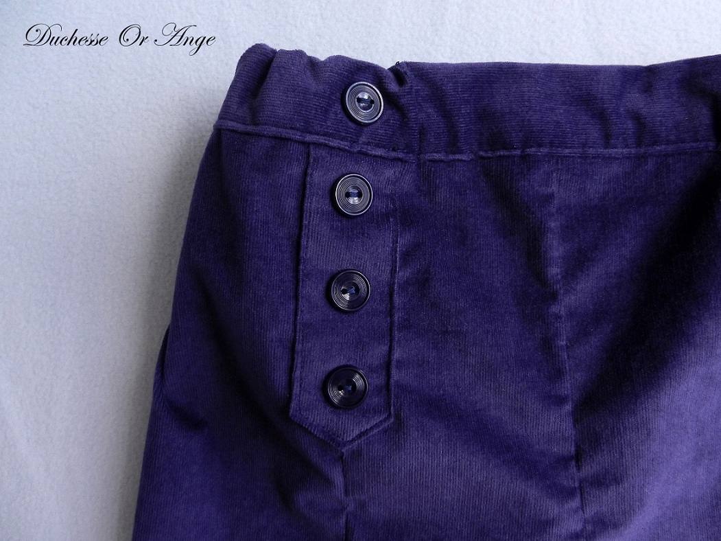 Doa 107 bermuda enfant violet purple child bermudas b