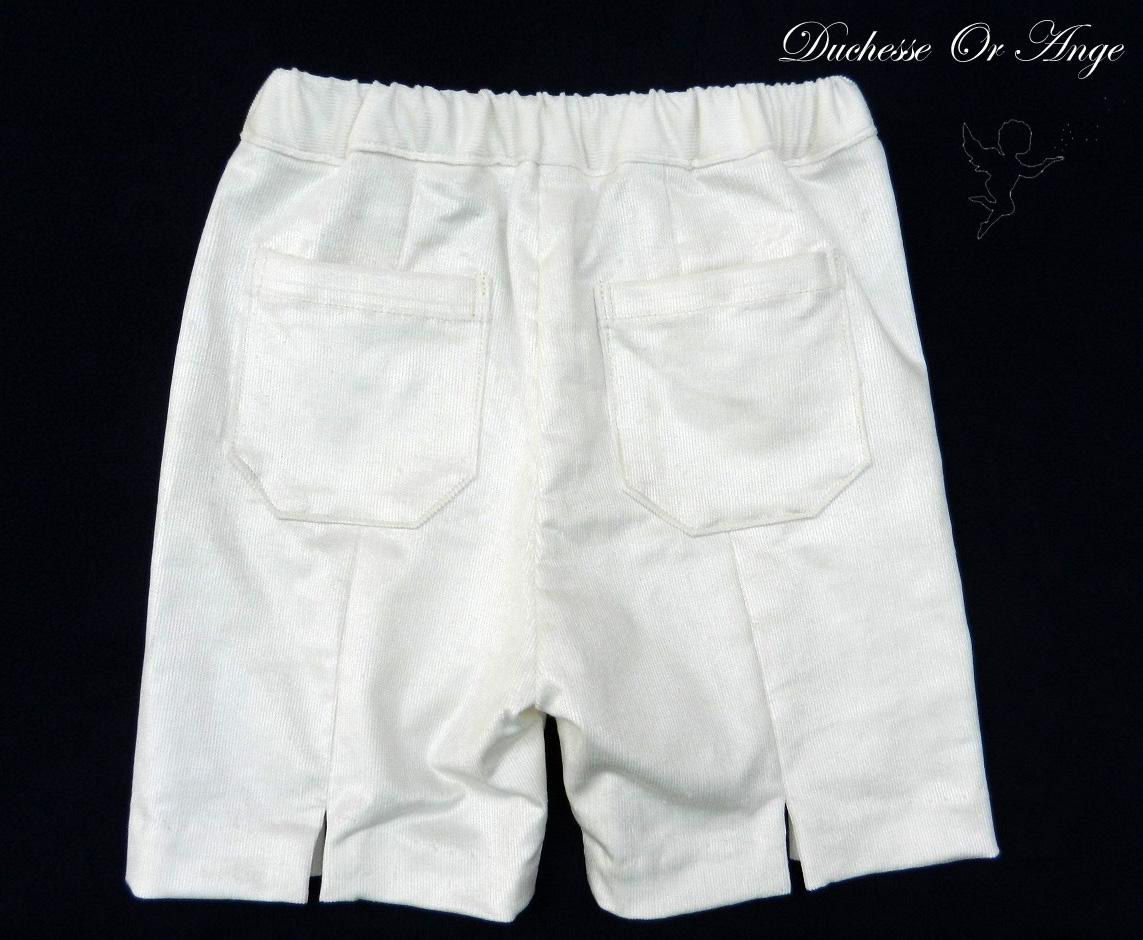 Doa 110 c bermuda blanc 4 ans white bermuda 4 years old