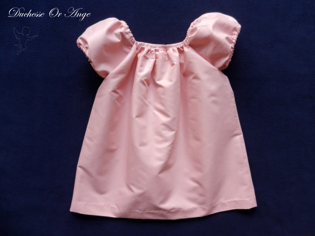 Doa 119 c robe fille rose pink girl dress