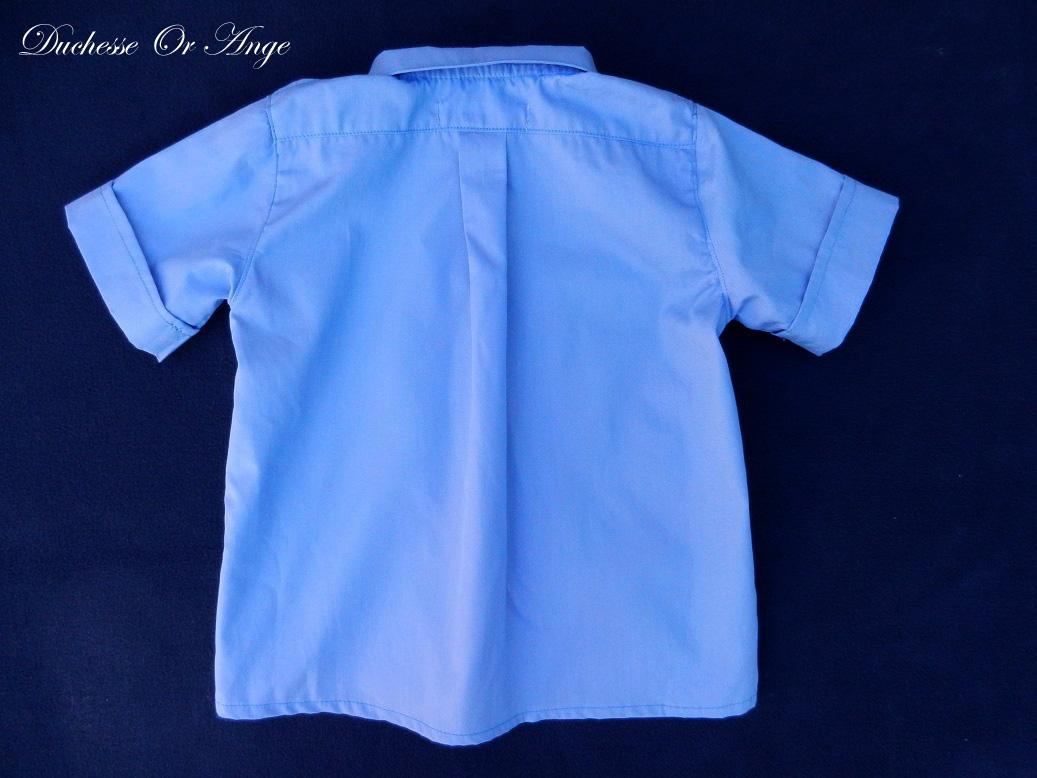 Doa 125 c chemise bebe bleue blue baby shirt