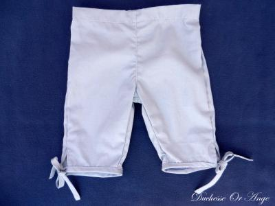 Grey cotton capri pants - 2 years old