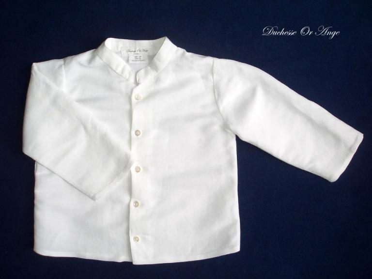 White linen shirt - 2 years old