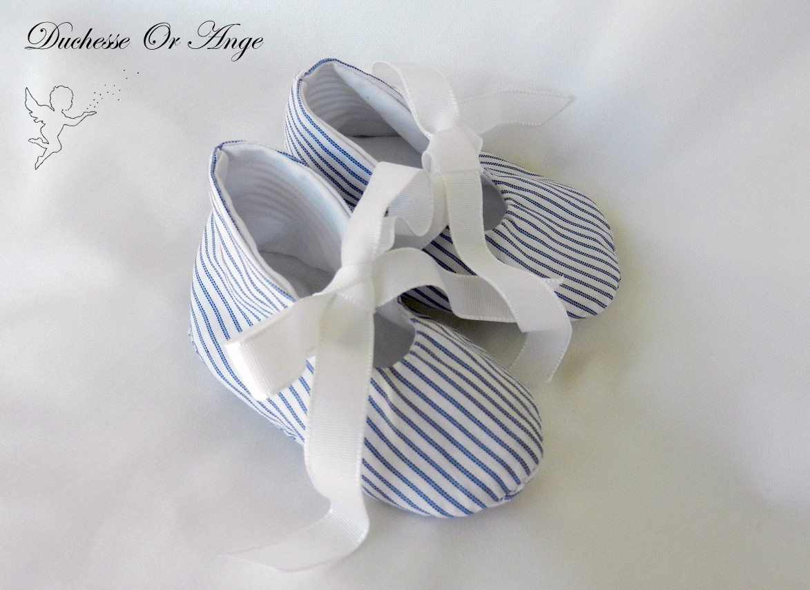 Doac 31 b chaussons bebe baby shoes
