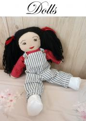 Doap 12 duchesse or ange poupee rose doll a iconee