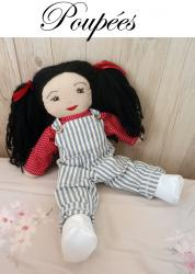 Doap 12 duchesse or ange poupee rose doll a iconef