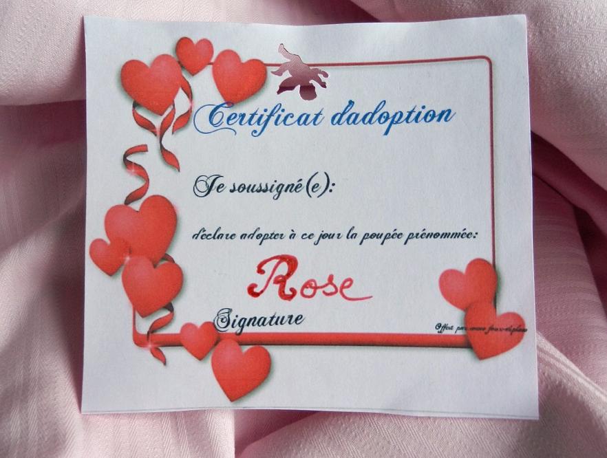 Doap 12 duchesse or ange poupee rose doll c