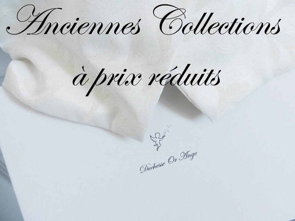 Anciennes Collections à prix réduits