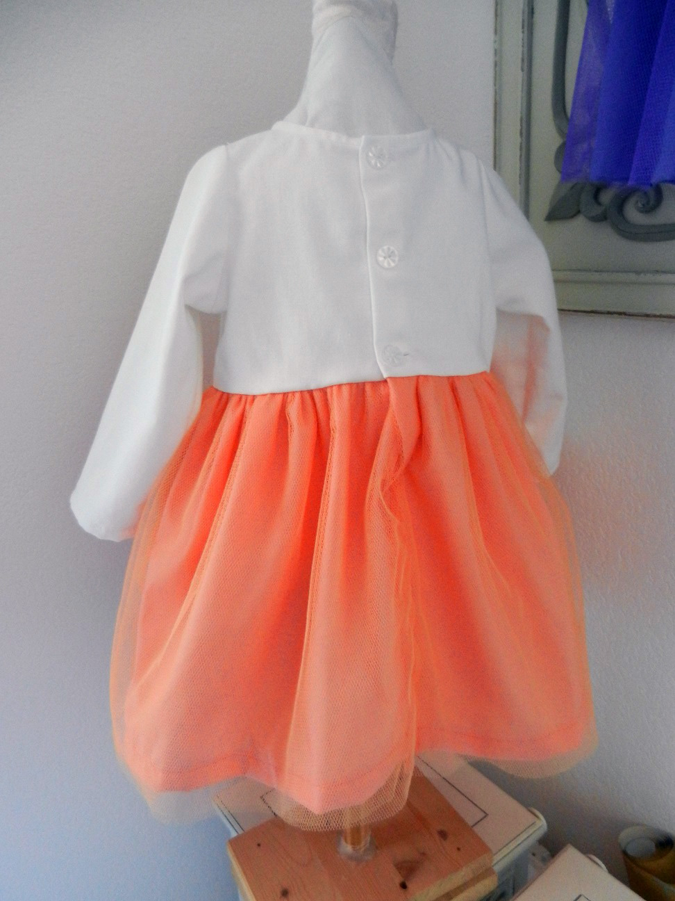 Duchesse or ange doa 290 robe licorne bebe enfant baby child unicorn dress e
