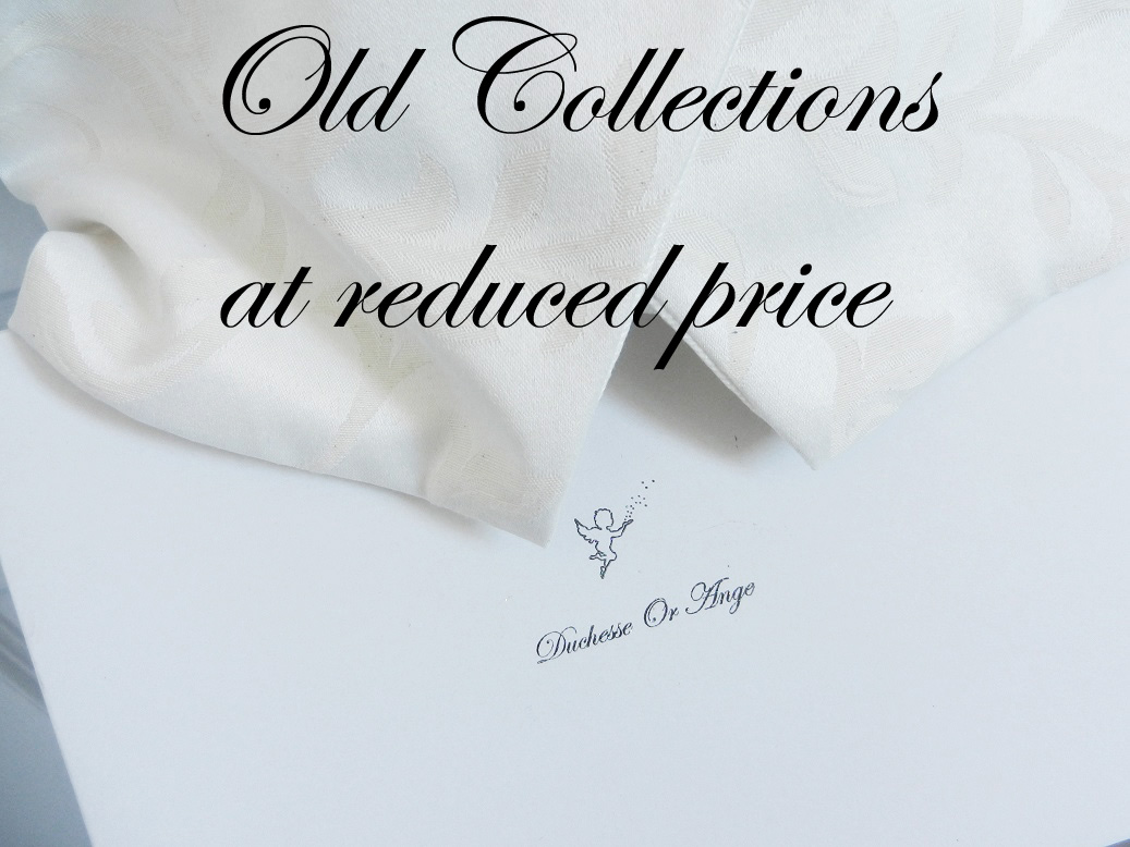 Old collections at reduced prices