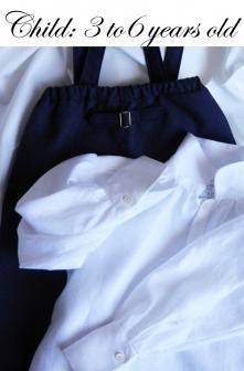 Duchesse or ange pantalon chemise lin iconee
