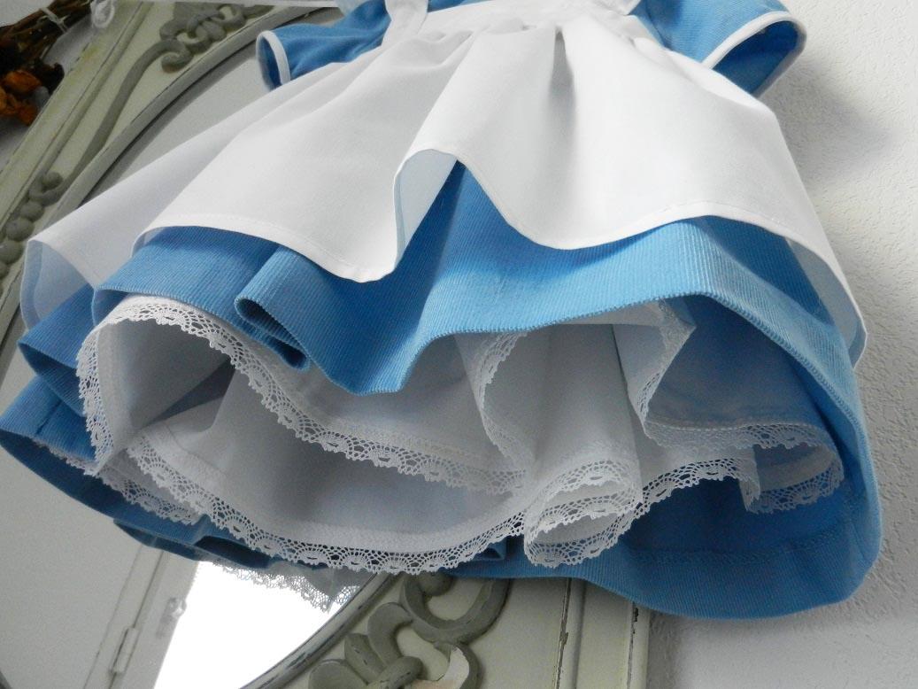 Duchesse or ange robe alice au pays des merveilles 2