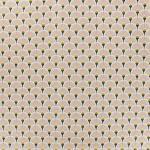 19 cretonne coton japonais eventails rose