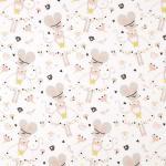 63 coton souris danseuse blanc rose