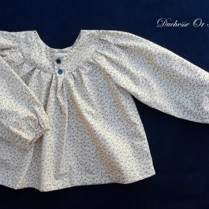 Doa 101 blouse enfant creme cream child blouse a