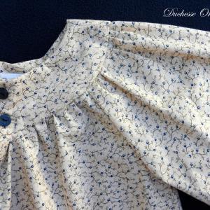 Doa 101 blouse enfant creme cream child blouse b