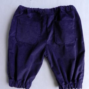 Doa 105 pantacourt enfant violet purple child capri pants b