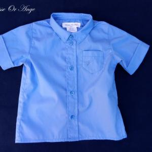 Doa 125 a chemise bebe bleue blue baby shirt