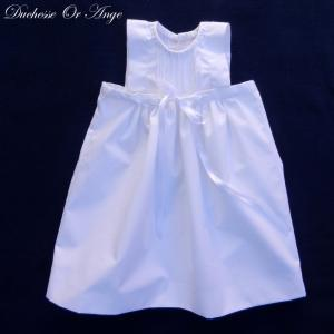 Doa 129 a robe bebe blanche ceremonie bapteme white baby dress christening