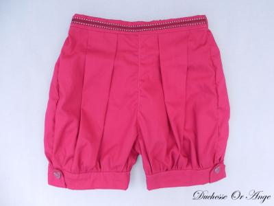 Raspberry pink shorts - 3 years old