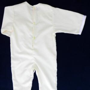 Doa 75 c combinaison b b jaune yellow baby overalls