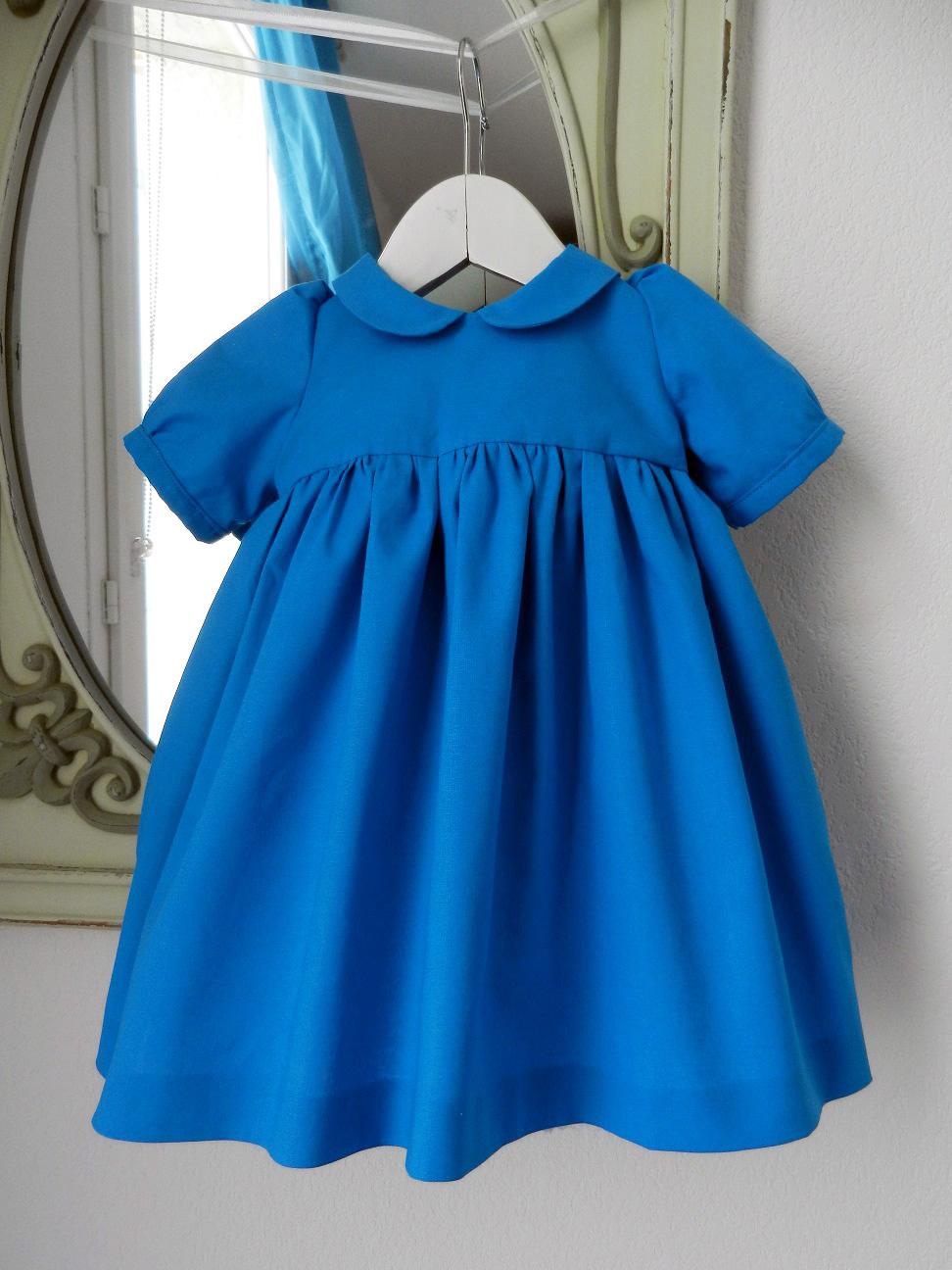 Duchesse or ange 190 robe bleue alice tablier blanc jupon blue dress white apron petticoat a