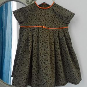 Duchesse or ange 224 a robe bebe verte orange