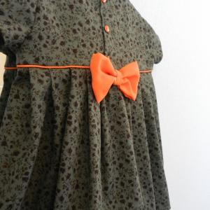 Duchesse or ange 224 d robe bebe verte orange