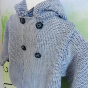 Duchesse or ange 230 c veste a capuche bleu clair bebe 1 an