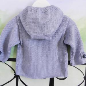 Duchesse or ange 230 d veste a capuche bleu clair bebe 1 an