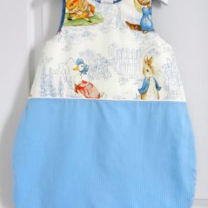 Duchesse or ange 235 a gigoteuse turbulette beatrix potter bleu bebe