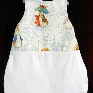 Duchesse or ange 236 d gigoteuse turbulette beatrix potter blanche bebe