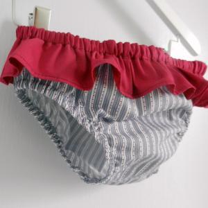 Duchesse or ange 240 b maillot de bain bebe enfant fille fillette rayures violet rose volant