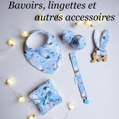 Duchesse or ange bavoirs lingettes
