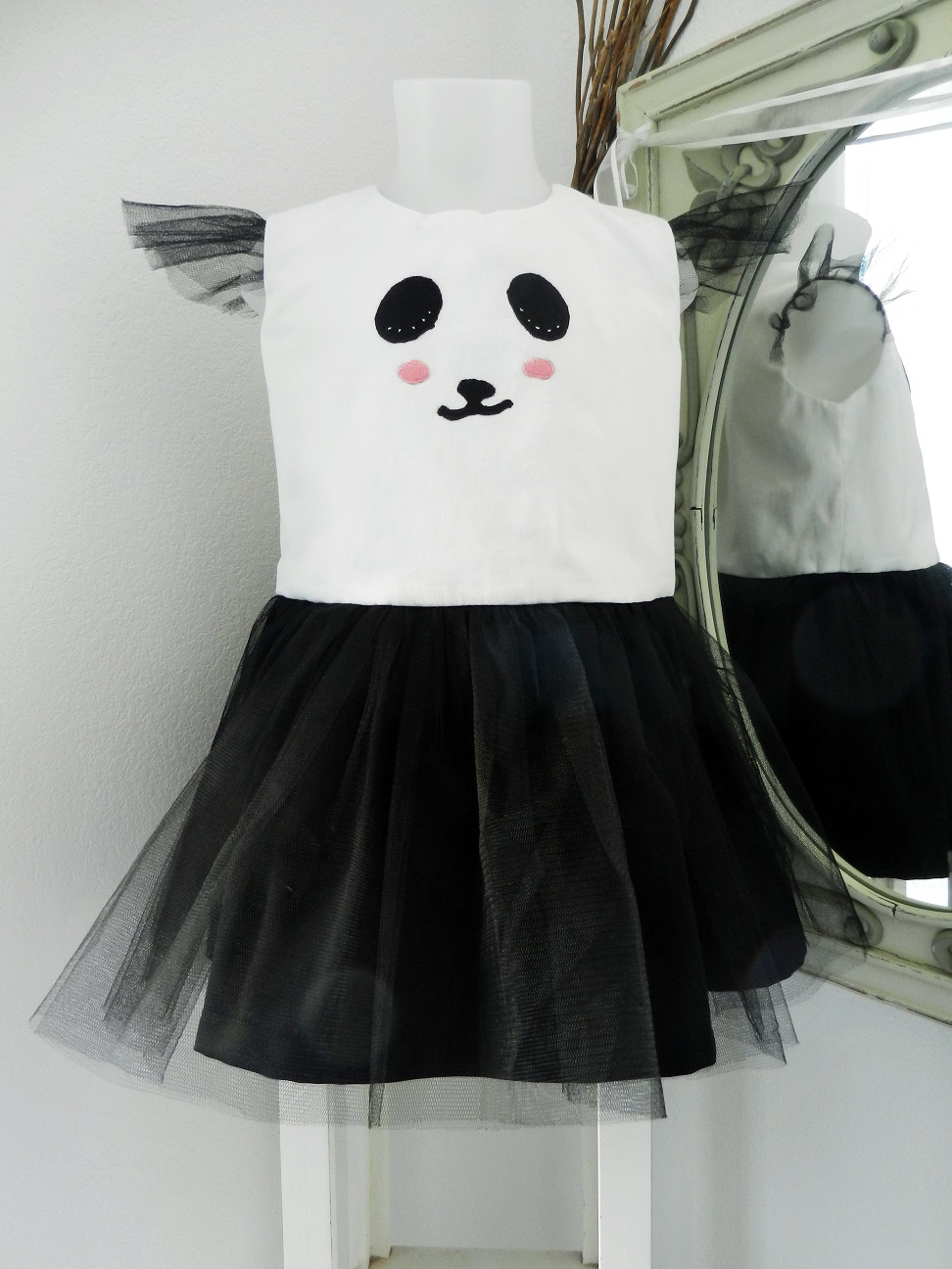 Duchesse or ange doa 284 robe panda dress g