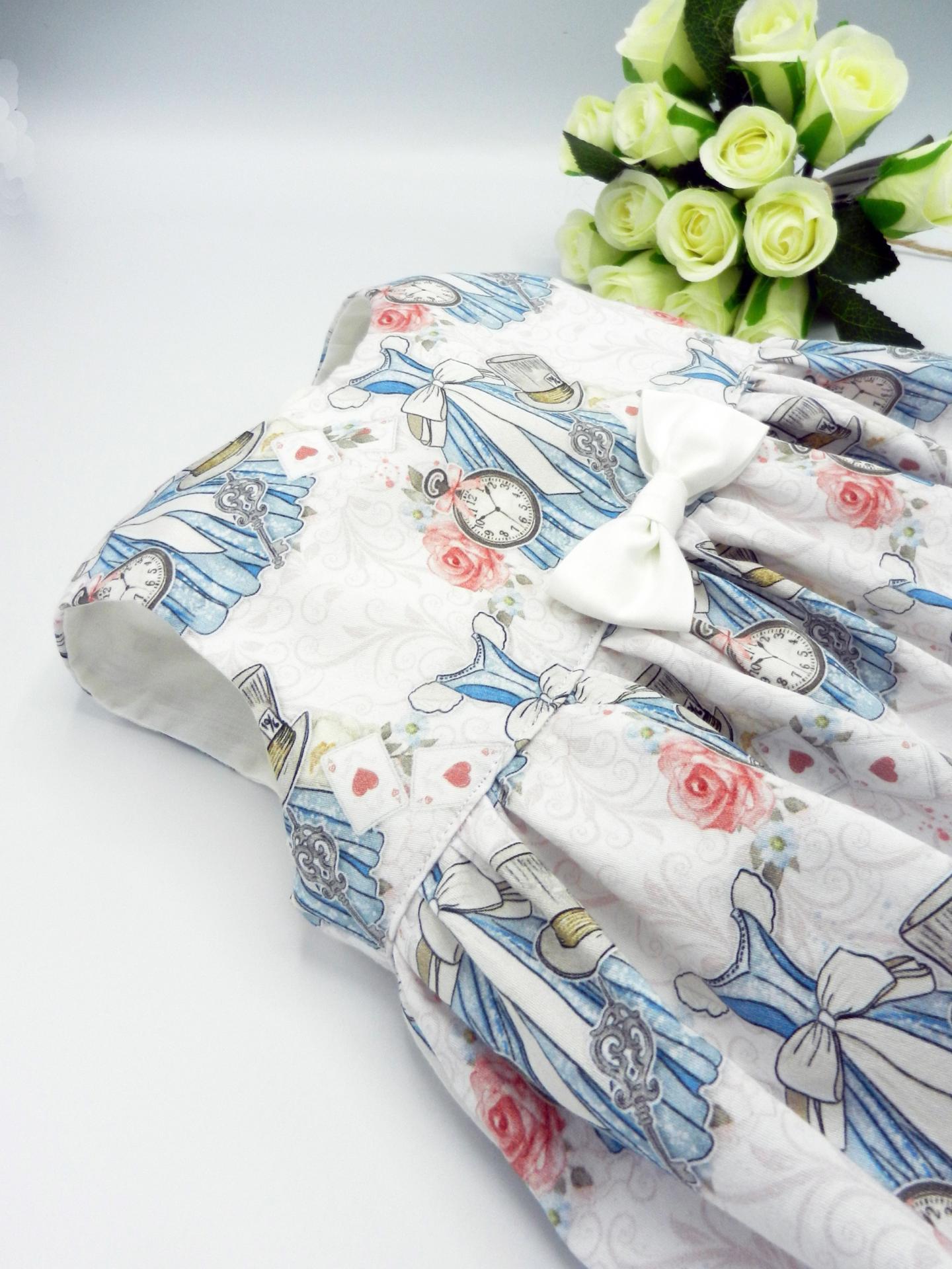 Duchesse or ange doa 308 robe sans manches merveilles blanches noeud blanc sur le devant b