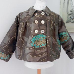 Duchesse or ange doa 81 duchesse or ange veste enfant marron brown child jacket a
