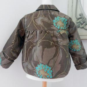 Duchesse or ange doa 81 duchesse or ange veste enfant marron brown child jacket b