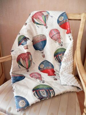 Baby blanket in balloons print
