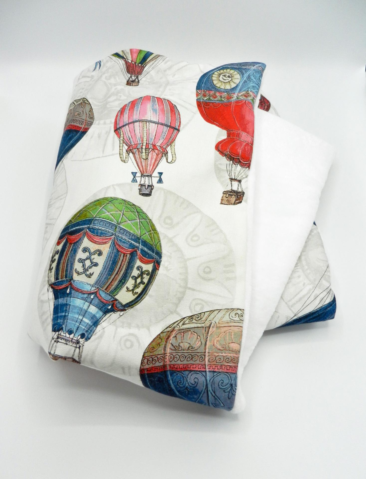 Duchesse or ange doaa 64 couverture bebe en imprime ballons dirigeables a