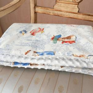 Duchesse or ange doaa 65 couverture bebe beatrix potter minky c
