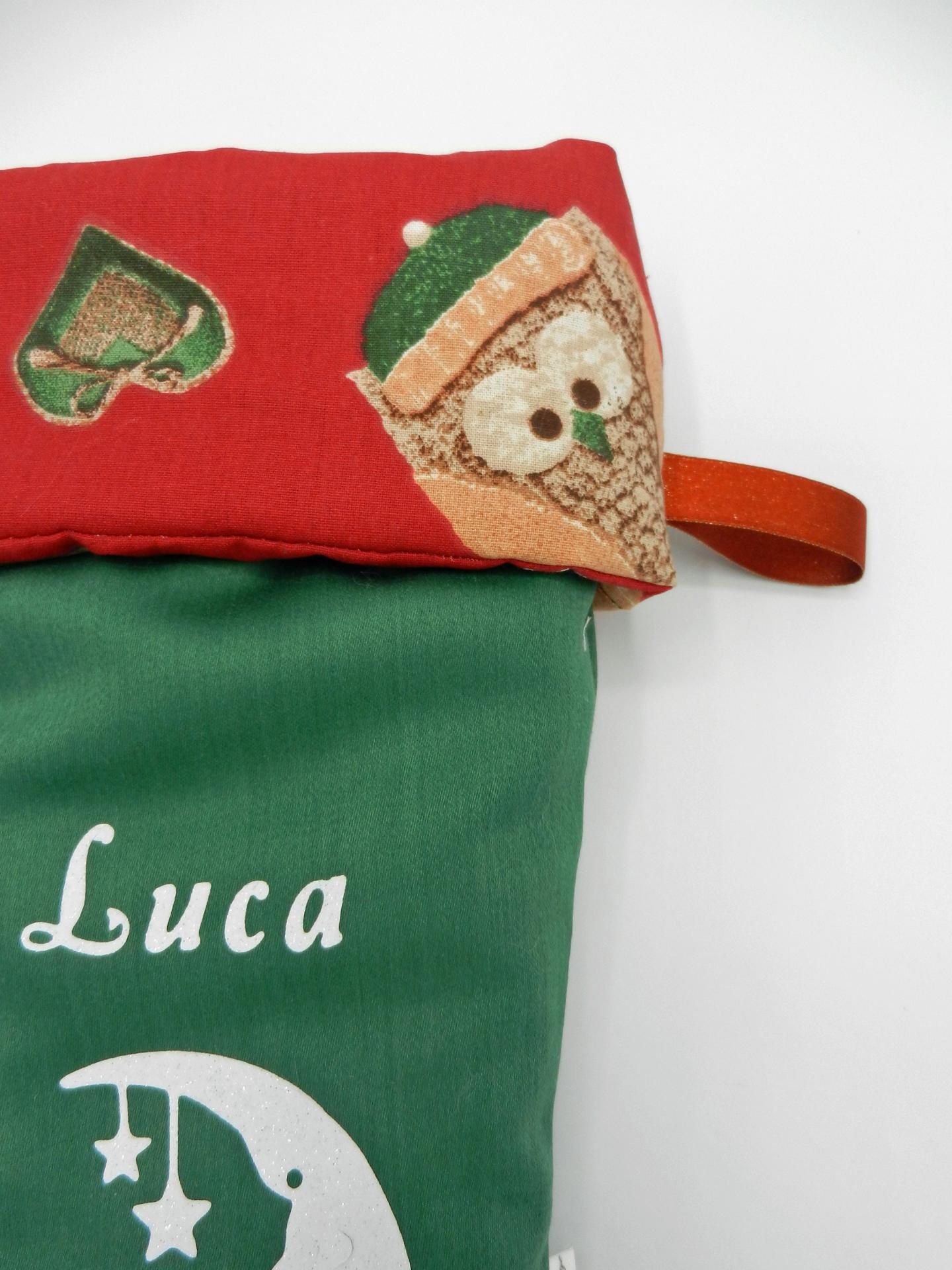 Duchesse or ange doaa 82 botte de noel verte hibou rouge prenom texte c