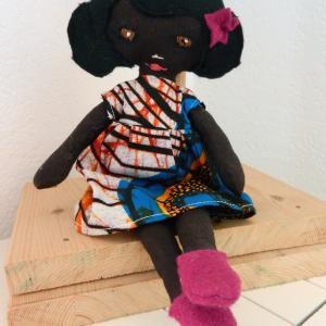 Duchesse or ange doap 16 poupee africaine mistinguette b