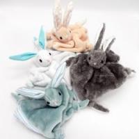 Duchesse or ange doudous lapin